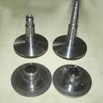 CVT sets : pulley and belt axle